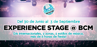 Experience stage BCM 2019