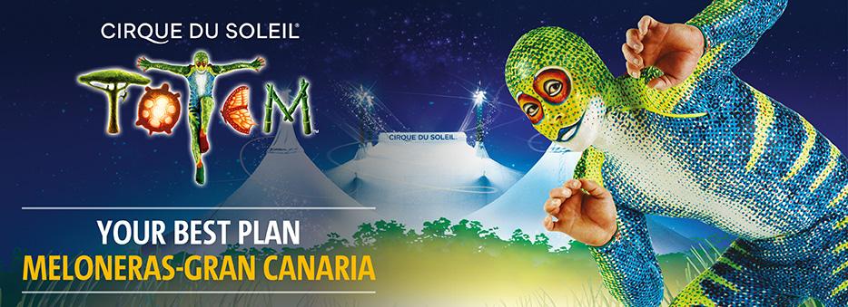 Cirque du Soleil Canarias reservations official site