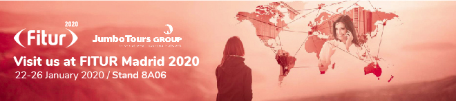 Visit Us al FITUR Madrid 2020, 22-26 January 2020 / Stand 8A06